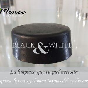 Black & White Jabón de carbón activado