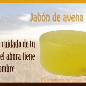 005 Jabón facial de Avena & Miel