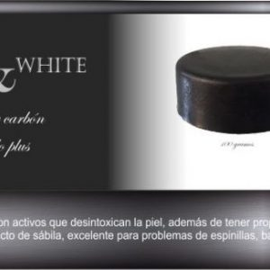 004 Black & White Jabón de carbón activado