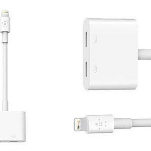 Adaptador para iPhone cargador/Audífonos