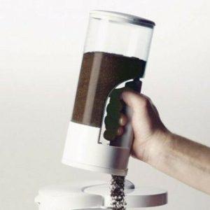 Dispensador Blanco De Café Practico Y Elegante Edición Limitada Zevro