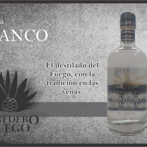 004 El Heredero del Fuego, Tequila Blanco