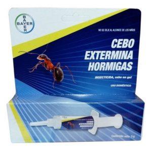 Cebo Insecticida en Jeringa con Gel para Eliminar Hormigas 5g Bayer