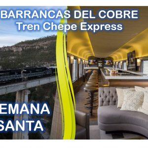 Barrancas del Cobre / Tren Chepe Express