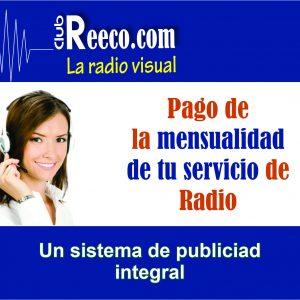 Pago de mensualidad radio