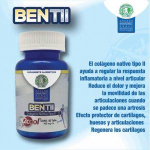 Suplemento Alimenticio Bentii 30 Tabletas 400 mg c/u